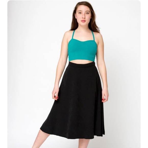 ffa348d65 American Apparel Skirts   Mid Length Circle Skirt   Poshmark